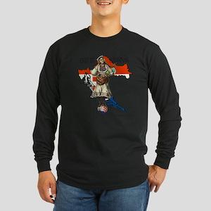 Croatia Culture Long Sleeve Dark T-Shirt