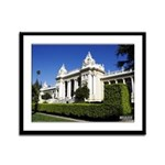 16x13 Framed Panel Print - Riverside Courthouse
