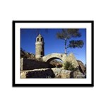 16x13 Framed Panel Print - Mount Rubidoux