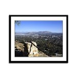 16x13 Framed Panel Print - Downtown Riverside