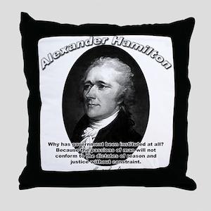 Alexander Hamilton 02 Throw Pillow