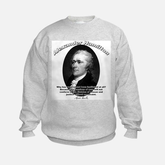 Alexander Hamilton 02 Sweatshirt
