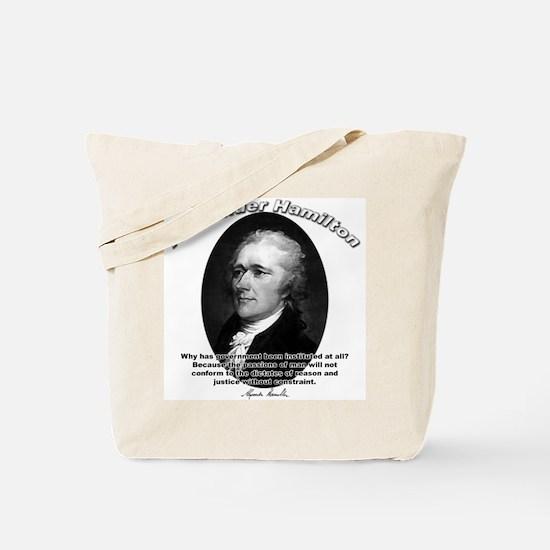 Alexander Hamilton 02 Tote Bag