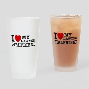 Lawyer Girlfriend Drinking Glass