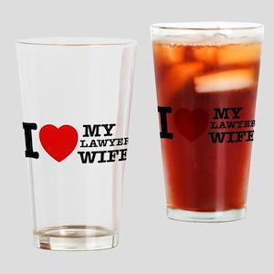 Lawyer Wife Drinking Glass