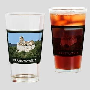 Transylvania Bran Castle Drinking Glass