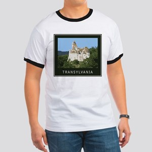 Transylvania Bran Castle Ringer T
