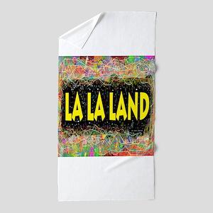 La La Land Life Beach Towel