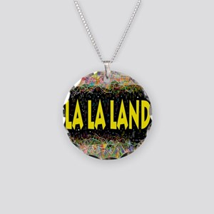 La La Land Life Necklace Circle Charm