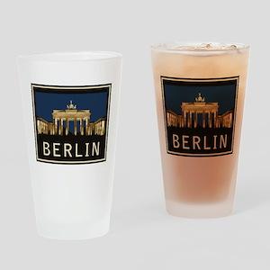 Berlin Brandenburg Gate Drinking Glass