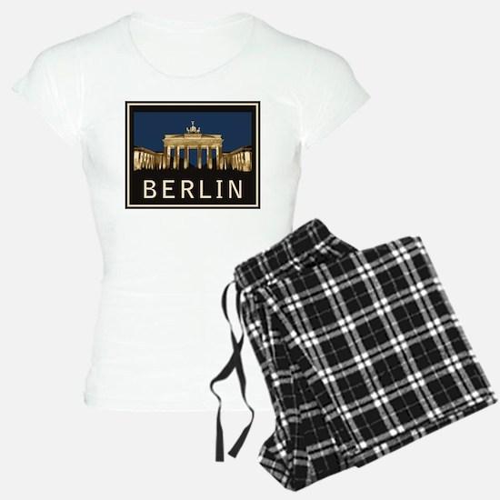 Berlin Brandenburg Gate Pajamas