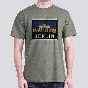 Berlin Brandenburg Gate Dark T-Shirt