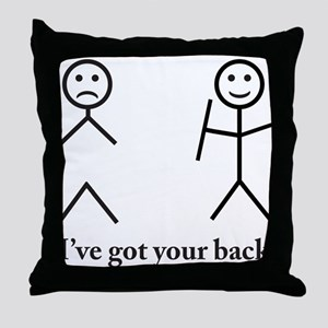 Humorous Throw Pillow