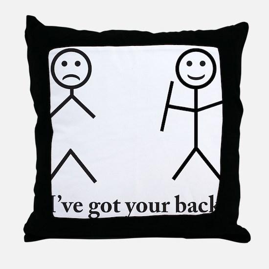 Humorous Throw Pillow