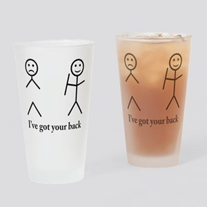 Humorous Drinking Glass