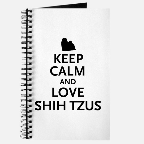 Keep Calm Shih Tzus Journal