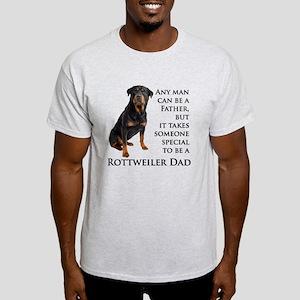Rottie Dad Light T-Shirt