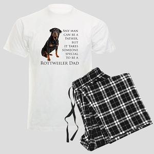 Rottie Dad Men's Light Pajamas
