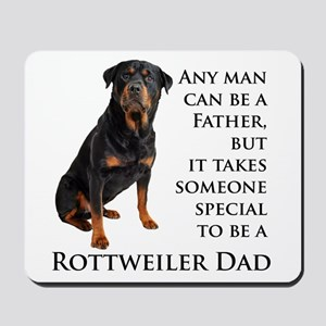 Rottie Dad Mousepad