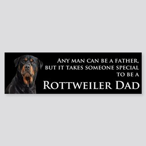 Rottie Dad Sticker (Bumper)