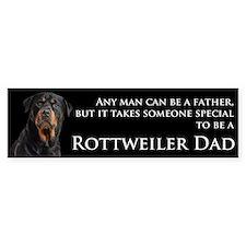 Rottie Dad Sticker (Bumper)