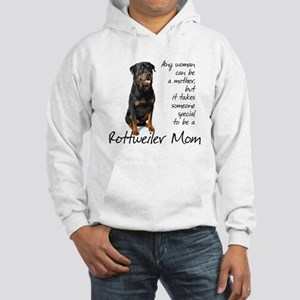 Rottweiler Mom Hooded Sweatshirt