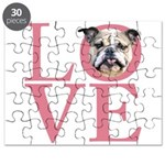 Love - Bulldog Puzzle