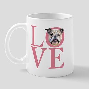 Love - Bulldog Mug