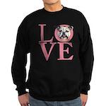 Love - Bulldog Sweatshirt (dark)