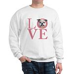 Love - Bulldog Sweatshirt
