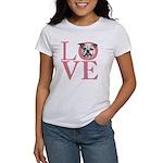 Love - Bulldog Women's T-Shirt