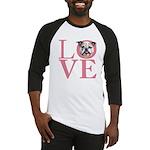 Love - Bulldog Baseball Jersey