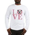 Love - Bulldog Long Sleeve T-Shirt