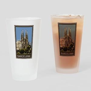 Barcelona Sagrada Familia Drinking Glass