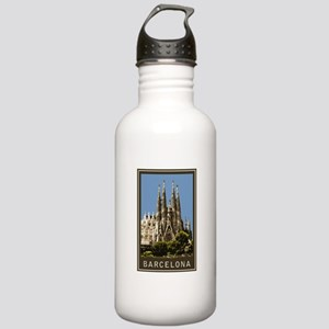 Barcelona Sagrada Familia Stainless Water Bottle 1