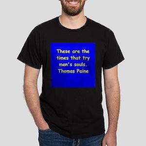 thomas paine Dark T-Shirt