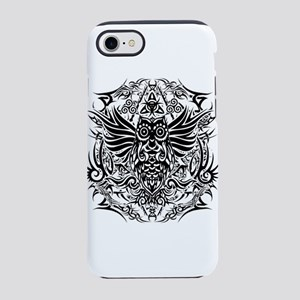 Tattoo tribal owl iPhone 7 Tough Case