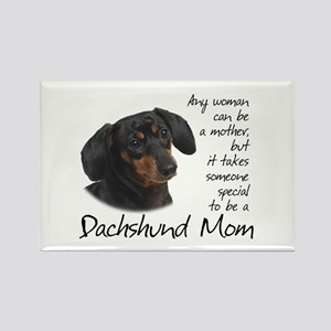 Dachshund Mom Rectangle Magnet