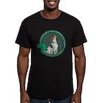 Irish Pride Foxhound Men's Fitted T-Shirt (dark)