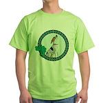Irish Pride Foxhound Green T-Shirt