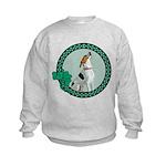 Irish Pride Foxhound Kids Sweatshirt