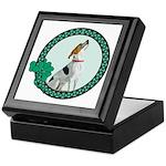 Irish Pride Foxhound Keepsake Box