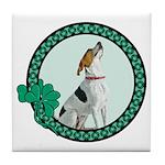 Irish Pride Foxhound Tile Coaster