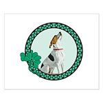 Irish Pride Foxhound Small Poster
