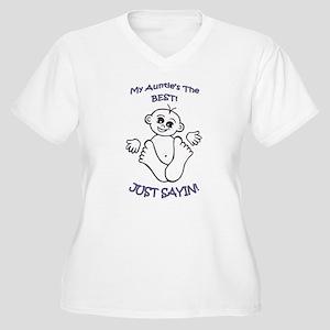 Women's Women's Plus Size V-Neck T-Shirt
