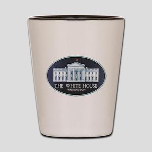 The White House Shot Glass