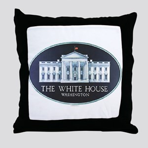 The White House Throw Pillow