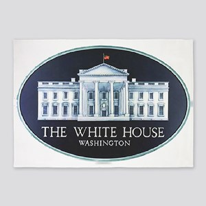 The White House 5'x7'Area Rug