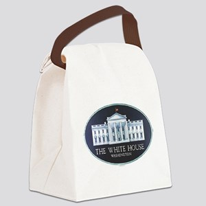 The White House Canvas Lunch Bag