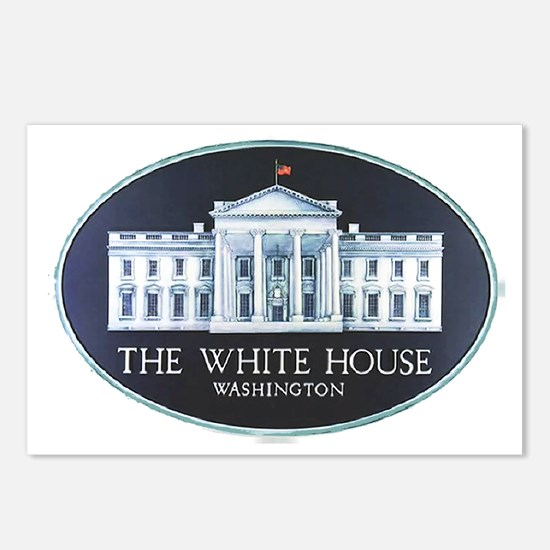 The White House Postcards (Package of 8)